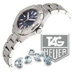 Tag Heuer diamonds aquaracer by doreeenka on Polyvore featuring TAG Heuer