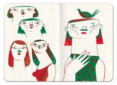 The Sketchbook of Mar Hernandez