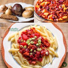 Kuchařka ze Svatojánu: GULÁŠ S ČERVENOU ŘEPOU A BRAMBORY Pasta Salad, Ethnic Recipes, Food, Crab Pasta Salad, Essen, Meals, Yemek, Eten