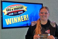 Congratulations to Kaila Savage for winning $100 in The Great Gas & Grocery Giveaway from KXLY4, Divine's & Yokes!
