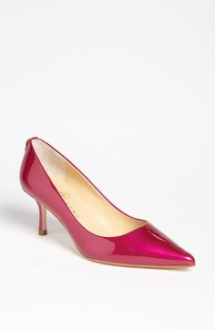 945faa1ab8c Vintage Hot Pink Heels   Bright Fuschia 80s Pumps   Vintage Kitten ...