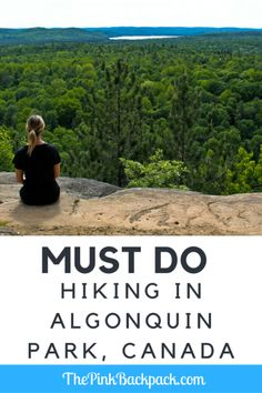 Nestled in the heart of Northern Ontario, Algonquin Provincial Park is a gorgeous, green gem that should not be missed! Hiking Spots, Hiking Trails, Vacation Trips, Vacation Spots, Places To Travel, Places To See, Ontario Travel, Green Gem, Algonquin Park