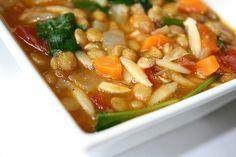 Lentil Orzo Soup