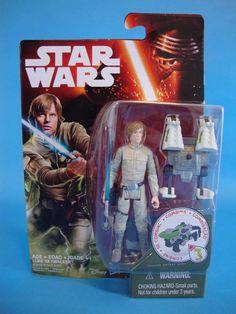 "2015 Star Wars The Force Awakens Luke Skywalker 3.75"" Action Figure NIP  #Hasbro"