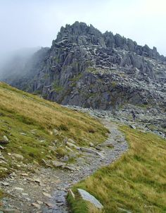"vwcampervan-aldridge: "" Rocky path to Carnedd Dafydd, Snowdonia National Park, Wales All Original Photography by http://vwcampervan-aldridge.tumblr.com """