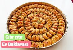 Baklava Without Rolls ? You can make baklava with a single meringue. Pastry Recipes, Gourmet Recipes, New Cake, Sweet Pastries, Cake Videos, Easy Cake Recipes, Rolling Pin, Food And Drink, Favorite Recipes