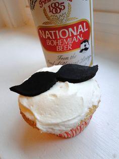 Natty Boh cupcakes