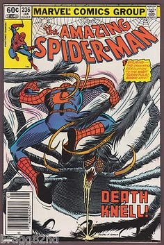 1982 Marvel Comics THE AMAZING SPIDER-MAN #236 #comicbooks