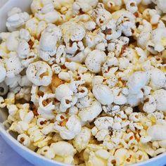 Sea Salt Popcorn with Cabernet  Sauvignon