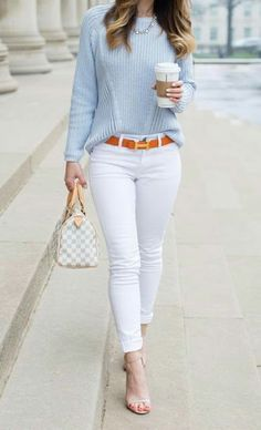 10 Best Spring Outfit Ideas For Work - Casual Work Outfits Preppy Summer Outfits, Classy Work Outfits, Business Casual Outfits, Casual Fall Outfits, Work Casual, Winter Outfits, Women Work Outfits, Preppy Work Outfit, Smart Casual