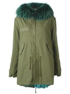 2fe31a8bbba MR  amp  MRS ITALY lined hooded parka.  mrmrsitaly  cloth  parka Green