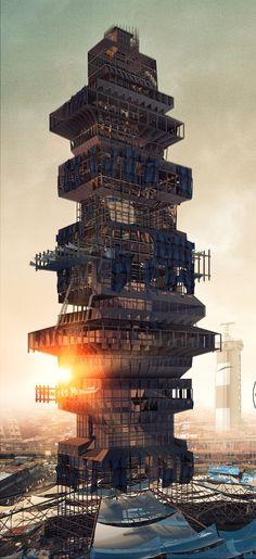 Conceptual high-rise containing 11 landscapes wins eVolo Skyscraper Competition.