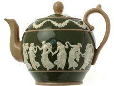 Copeland Spode Dancing Hours teapot c.1890