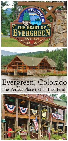 Evergreen Colorado - The Perfect Place to Fall Into Fun!