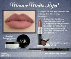 Mary Kay Mauve Matte Lips