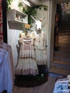 #alice #wonderland #japanstyle #fashion #tea #party #cute #japan #shopping #mori