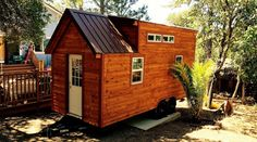 Tiny House w/ Full Size Shower, Toilet, Sink, RV Hookups, Appliances, Cabinets All Made in House - Dual Lofts - Stairway - Tiny House for UsTiny House for Us