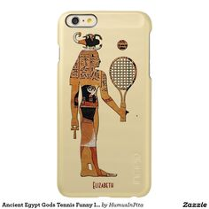 Ancient Egypt Gods Tennis Funny Incipio Case