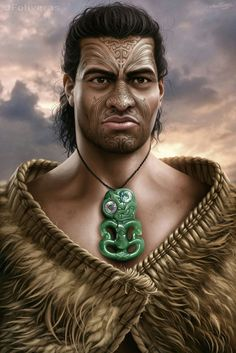 m sorcerer or barbarian or cleric portrait ArtStation - islander, Joan Francesc Oliveras Pallerols Character Portraits, Character Art, Character Design, Character Ideas, Fantasy Art Men, Fantasy Warrior, Sandro, Maori People, Creation Myth