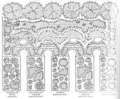 Design for a densely stacked, urban forest garden