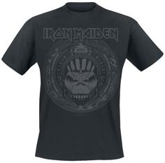 Book Of Souls Skull - T-Shirt by Iron Maiden