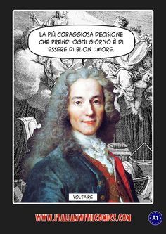 Today we have an inspirational quotation by Voltaire.