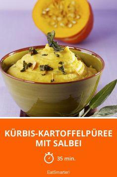Kürbis-Kartoffelpüree mit Salbei - smarter - Zeit: 35 Min. | eatsmarter.de