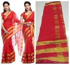 Sarees Versatile South silk Saree  *Fabric* Saree -South Silke, Blouse - South Silk  *Size* Saree Length -5.3 Mtr  , Blouse Length -0.70 Mtr  *Work* Printed  *Sizes Available* Free Size *   Catalog Rating: ★3.8 (152)  Catalog Name: Alisha Printed Kasavu Georgette Sarees with Floral Pattern CatalogID_166344 C74-SC1004 Code: 453-1303132-