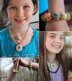 Jewelry Workshop – Kids edition! | VeruDesigns, LLC Crochet Necklace, Workshop, Kids, Jewelry, Fashion, Crochet Collar, Children, Jewellery Making, Moda