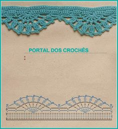 Szydełkomania: 12/01/2013 - 01/01/2014 Col Crochet, Crochet Lace Edging, Crochet Motifs, Crochet Collar, Crochet Diagram, Crochet Chart, Filet Crochet, Crochet Border Patterns, Tatting Patterns