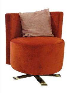 Hand-picked by our design team: Stega® | Circolo von Erlacher Polster Ein Sessel und ein Sofa in runder Feng-Shui Formgebung ohne Ecken und Kanten, das ist Circolo! Elegant in Cafe's, Warteräumen, Entrée's oder sonst in jeder Lounge wo sich Ihre Kunden wohlfühlen sollen. #chairdesigns #designchairs #chairdesigner #designmood #designchair #chairdesign #interiordesign #livingroomideas #contemporaryfurniture #multifunctionaldesign #multifunctional #livingroom #loungefurniture #velvetchair