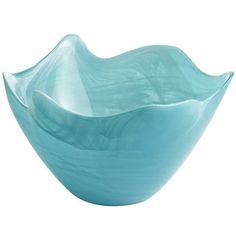 Turquoise Alabaster Serving Bowl - I actually have a bowl very similar to this. I love it.