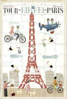Londji Puzzle Paris Multicoloured `One size Artist : Txell Darne Details : 54 pieces Age : From 3 years old Fabrics : Recycled cardboard, Paper Color : Multicoloured 47 x 32 cm EN71 approved for 18m Do not leave within reach of children less th http://www.comparestoreprices.co.uk/january-2017-7/londji-puzzle-paris-multicoloured-one-size.asp