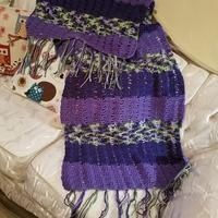 EDITOR'S CHOICE (07/28/2016) Shawl Shades of Purples by Mommy Rosie View details here: http://crochet.community/creations/4745-shawl-shades-of-purples
