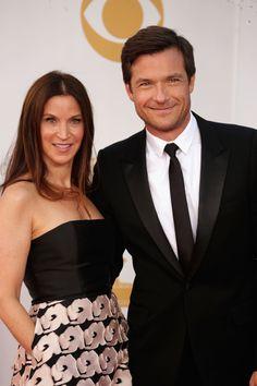 2013 Emmy Awards - Amanda Anka and Jason Bateman