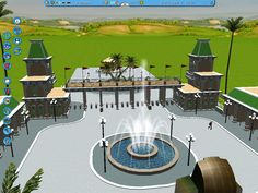 roller coaster tycoon entrances - Google Search