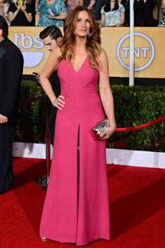 red carpet looks sag awards celebridades