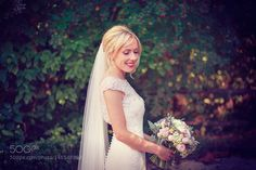 Bride portrait by danasjuodaitis