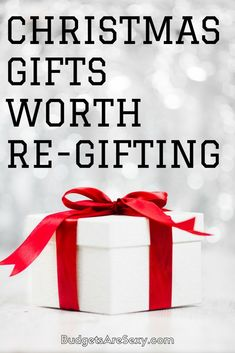 A New Christmas Gift Rule In Our Household   Christmas gifts, Gift ...