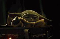 Baby Yoda The Mandolorian GIF BabyYoda TheMandolorian Child Discover & Share Yoda Gif, Yoda Meme, Yoda Funny, Marilyn Monroe Frases, Ross Y Rachel, Star Wars Wallpaper, Star Wars Baby, Mandalorian, Clone Wars