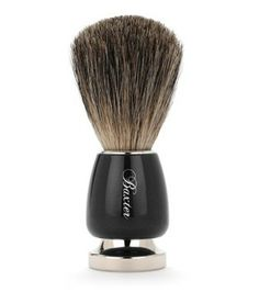 Buy best badger hair shaving brush on Luxury Barber. Baxter of California Black Best Badger Shave Brush is an essential shaving tool for wet shaving. Shaving Brush, Shaving Soap, Shaving Cream, Moustache, Straight Razor Shaving, Baxter Of California, Best Shave, Pre Shave, Hairstyle