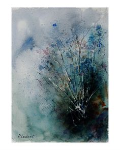 Watercolor 2554 Giclee Print by Ledent at Art.com