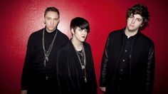 The xx's Oliver Sim, Romy Madley Croft, and Jamie Smith decided to paint their rehearsal space a shade of red that would complement their carefully cultivated pallor and studied ennui.