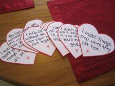 valentines day scavenger hunt