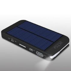 Premium Solar Charger - Ultra Thin Solar Powered Backup Battery and Charger for Cell Phones, iPhone, iPod, and Most USB Powered Device