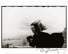 Selfportrait of Annie Leibovitz