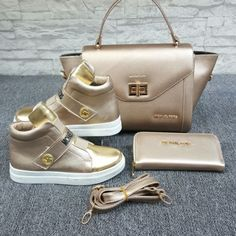 Spiffy Fashion Beautiful Handbags and shoes For You - Sneakers Fashion, Fashion Shoes, Mk Sneakers, Shoe Boots, Shoe Bag, Beautiful Handbags, Cross Body Handbags, Cute Shoes, Purses And Handbags