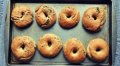 Selbstgemachte Low-Carb Bagels