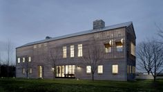 Architects: Leroy Street Studio Location: Long Island, NY Completion: 2007 Size: 7,400 sf House, 1,900 sf Wood Shop and Garage Photographs: Paul