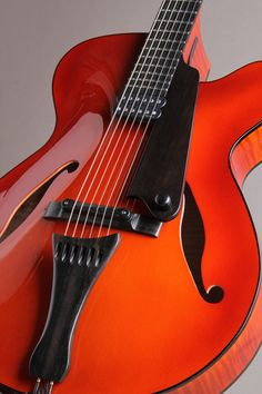 """Marchione Guitars 16"""" Arch Top European Spruce Top Flame Maple Side & Back"""